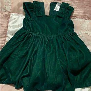 6 month Carter's Velour Dress
